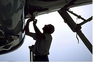 Maintenance d'avions