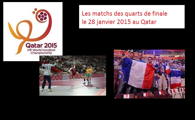 La france en demie finale de la coupe du monde de handball - Programme coupe du monde de handball 2015 ...
