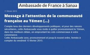 Alerte Yemen 001