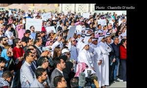 Manifestation Doha 001