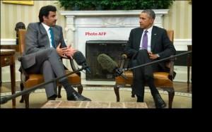 Tamim et Obama