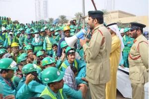 Travailleurs en lutte a Dubai 002