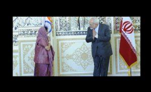 Visite en Iran de la MAE de l'Inde