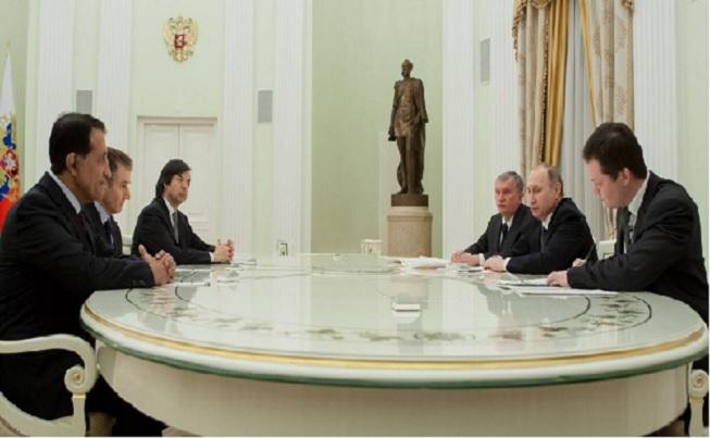 La visite de l'émir du Qatar en Russie fin mars 2018